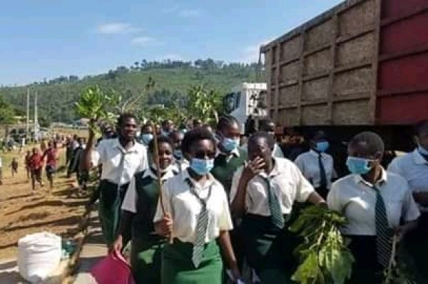 Lugulu girls students protest over rape incident in school